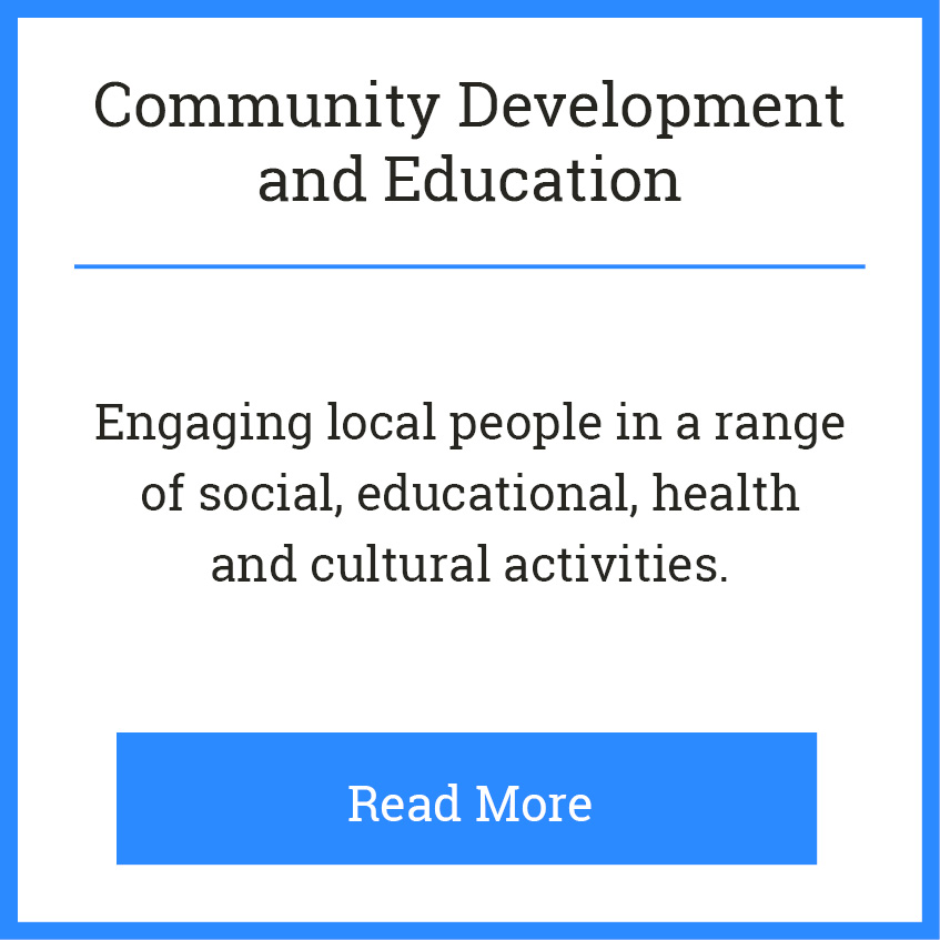 Blackie River Community Group - Areas of Work - Community Development b